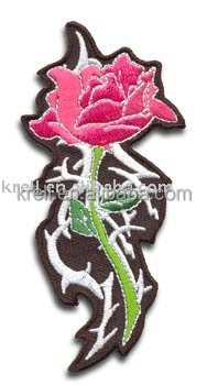 Top sell beautiful colorful embroidery patch badges
