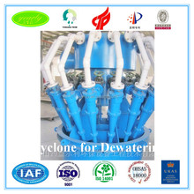 2016 new arrival high efficiency hydro cyclone for mineral benefication plant filtration machine water separating cyclone device