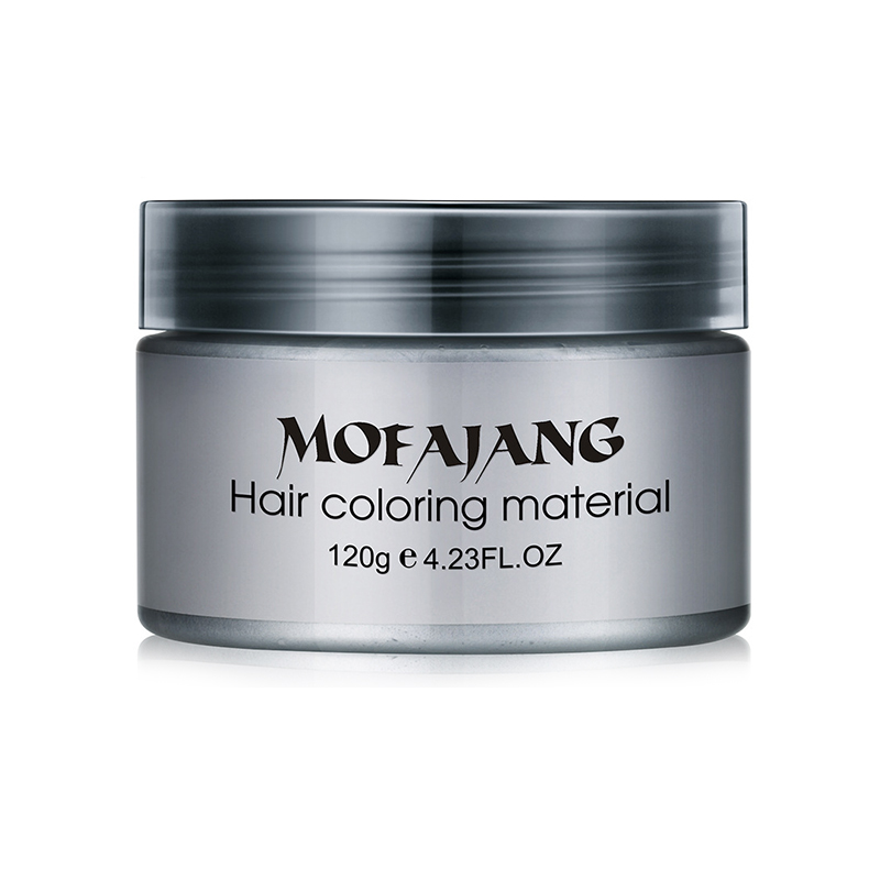MOFAJANG Crazy 9 Colors Hair Styling Pomade Temporary Disposable Cream Hair Dye Color Wax