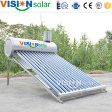 Vision Low-pressure stainless steel reflector solar water heater