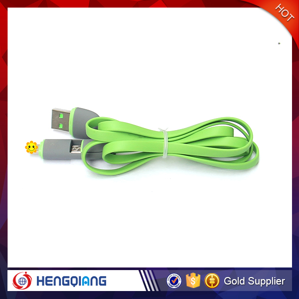grandever phone charging 2 in 1 usb data cable line for apple and android