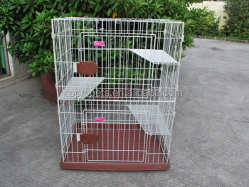 three layer cat cage
