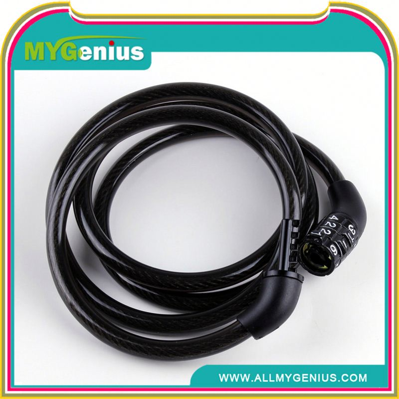 bicycle cable lock for bicycles motorbikes ,h0trk new model hot selling bicycle/bike lock