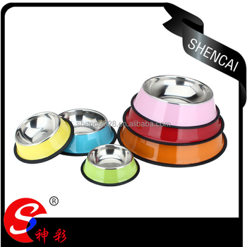 stainless steel pet bowl dog products