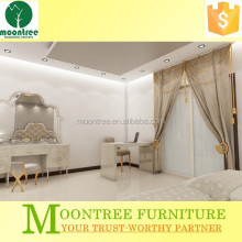 Moontree MBR-1394 antique girls white bedroom furniture