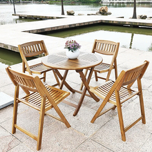 Wholesale outdoor furniture table and wood folding camping chair