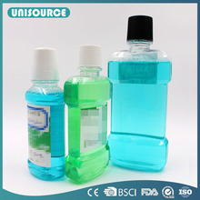 Plastic bottle packed certified private label liquid mouthwash