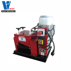 V-007 electric scrap copper peeling stripper automatic cable wire stripping machine