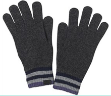 Fashion new design latest style warm knitted kids white cotton gloves