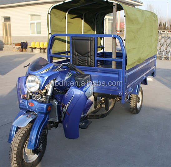 200cc hopper motor tricycle for cargo water cooling hot selling peru