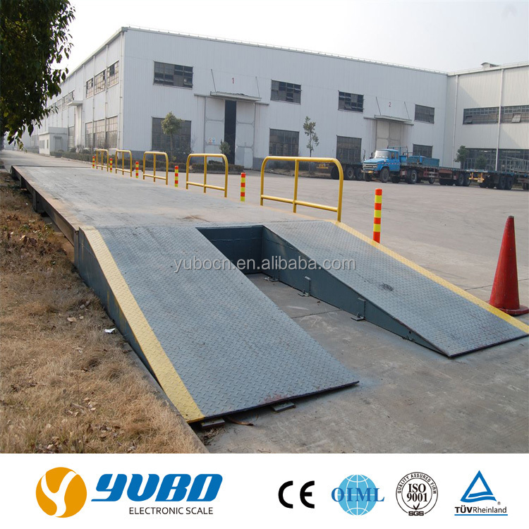 industrial mobile weighing truck scale