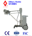 SF100BY 100mA mobile x ray equipment for radiography CE, manufacturer