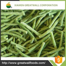 Supply frozen asparagus beans whole/cuts with competitive price