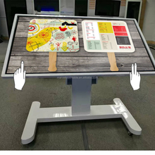 Tea / Game / Bar / Coffee 55 inch Indoor TFT Type LCD touch screen interactive multi touch table