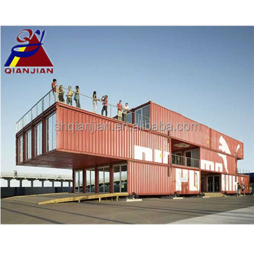 Luxury Prefab Expandable Shipping Container Restaurant House
