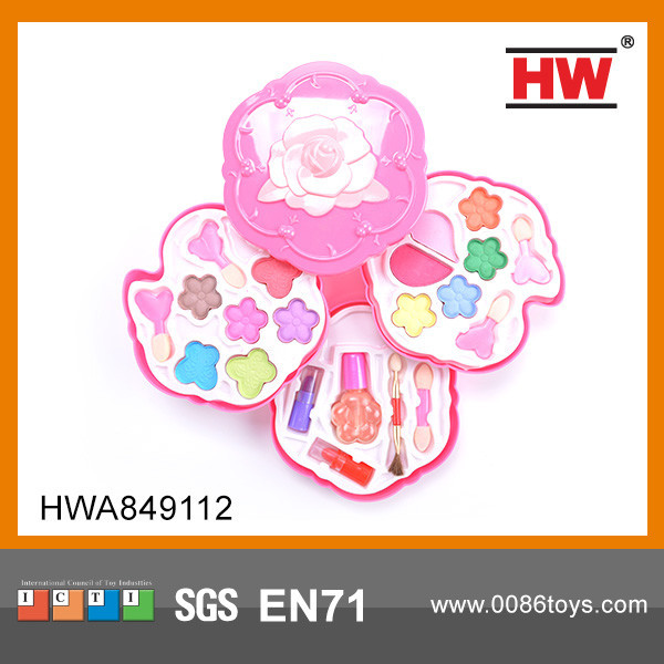 New Design plastic makeup set toy children cosmetic toy