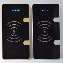 Portable Qi Wireless Charger Power Bank 10000mAh 2-1 Micro USB Cable 2A Input / Dual 2.1 Output USB Ports for samsung iphone
