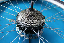 Wholesale 2013 New 36V 250W Electric Bicycle Ebike Brushless Gearless Mini Hub Motor Rear Wheel Motor Support 9-speed Disc Brake