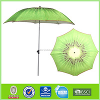 Custom Design OEM and ODM Sun and rain Sun protection fruit print umbrella