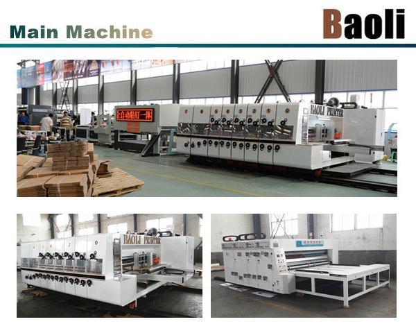 automatic slotting machine for small slot boxes/DHL corrugated boxes making machine