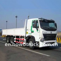 HOWOA7 336hp 10 wheeler cargo trucks for sale ZZ1257N4347N1