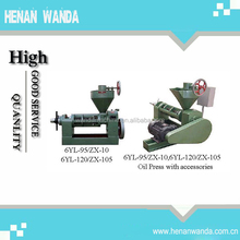 With best price screw oil press machine 6YL-100