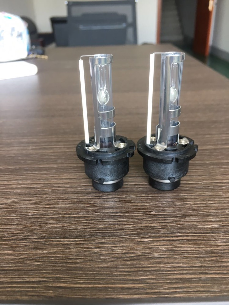 Pair D2K xenon headlight bulbs auto car 12v replace hid halogen light bulbs