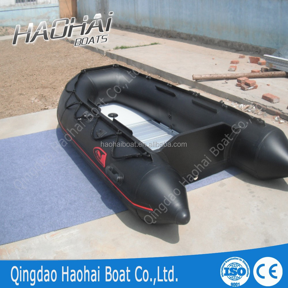 CE approved 9.8ft 300cm aluminum floor inflatable boat for sale