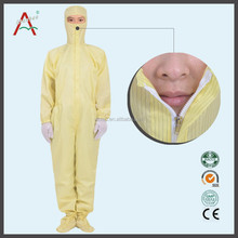 Disposable Waterproof Plastic Painters Workwear Coveralls Uniforms