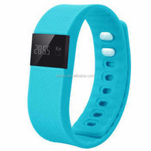 Factory dropshipping pedometer band smart bracelet, bluetooth watch for mobile phone