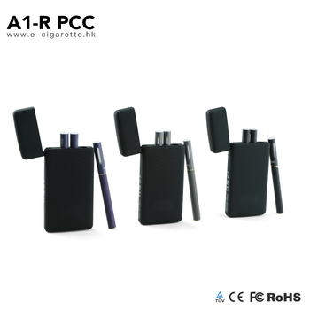 2017 hot new custom refillable wireless ecig case portable ecigs charging kit