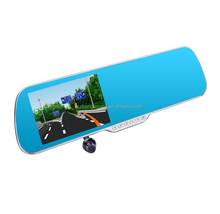 Rear Mirror Driving Manual Usage Motion Detect Car Camera DVR With Smart System