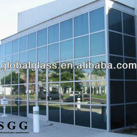 Excellent Heat Reduce Wall Glass Panels
