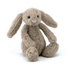 Cute gray bunny stuffed toys, plush rabbit sitting dolls for baby gifts