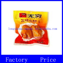Vacuum plastic packaing bag for delicatessen/soy chicken