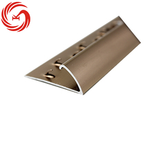 Flooring & accessories aluminium carpet edge protector/carpet end cap