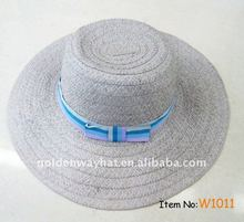ladies formal hats floppy beach straw hat to decorate