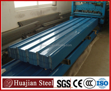 GI/Aluminum/PPGI Single Skin Profiled Roofing Sheets Supplier