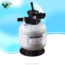 Factory economic fiberglass swimming pool sand filter water filtration system / pool wave machine