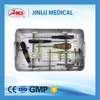 made in China Spine titanium orthopedic implants spine instrument set
