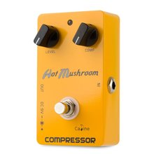 "Caline Compressor Effect Pedal "" Hot Mushroom"" CP-10"