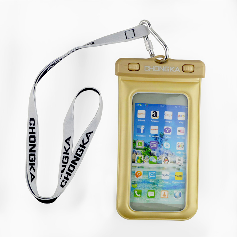 clip waterproof case for protecting your mobile phone