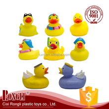 wholesale Pvc bath toy yellow duck flood light 5 years warranty