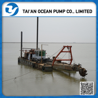 Equipments or river sand dredging