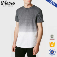 2015 OEM hot sale t-shirts stitch grid tee shirt for men wholesale