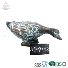 ancient terracotta country style duck decoration