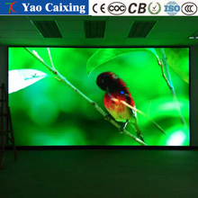 Dedicated wall hanging LED video customized size image TV full color display