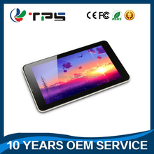 HD 1024*600 IPS screen 1GB+8GB 7inch tablet pc MTK8735 CPU metal case android tablet