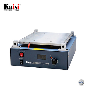 Kaisi Mobile Phone repair Vacuum LCD Screen Separator Machine With 12 Inches Heating Area