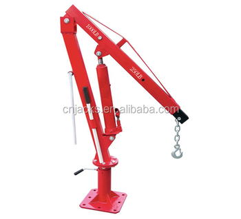 2000lbs 360 Degree Swivel Foldable Hydraulic Pick Up Truck Mounted Crane